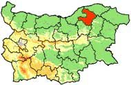 Area Sizes District Razgrad
