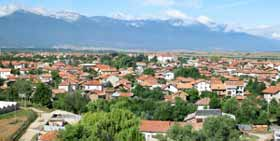 Village of Banya, Razlog, Bulgaria