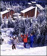 Ski resort Borovets, Bulgaria