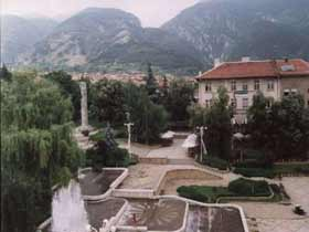 Town of Karlovo, center