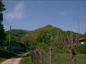 Village of Lazarci - view to Ostrec peak