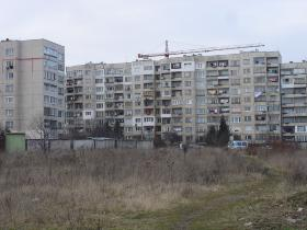 Panel block of flates in Mladost complex